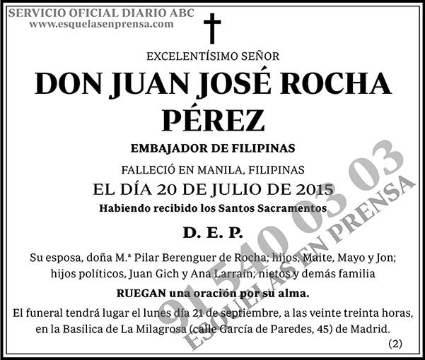 Juan José Rocha Pérez